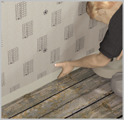 bodenanwendungen anwendung auf holzdielenboden video. Black Bedroom Furniture Sets. Home Design Ideas