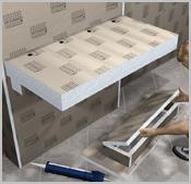 Mit geraden Platten - Das Regal mit Waschtisch-Unterkonstruktion | {Waschtisch selber bauen bauplatten 74}