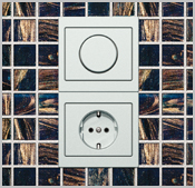 tipps zur verarbeitung das setzen von steckdosen kabel. Black Bedroom Furniture Sets. Home Design Ideas