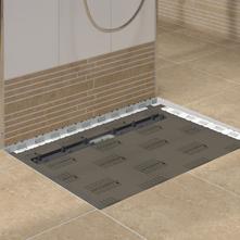TUB LINE U2013 Flush With The Floor Shower Bases