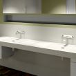 LUX ELEMENTS LAVADO®-FLOAT - Washstands with point drainage