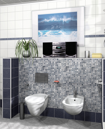 Bathroom design with ELEMENT