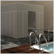 LUX ELEMENTS®- MODUL - Steam bath/room constructions