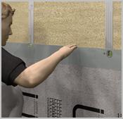 application sur mur int rieur panneau de construction multi fonctions utilisation sur. Black Bedroom Furniture Sets. Home Design Ideas