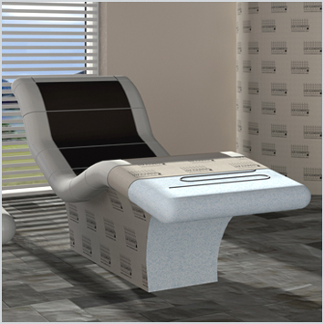 lux elements relax si ges de repos syst me de chauffage lectrique. Black Bedroom Furniture Sets. Home Design Ideas