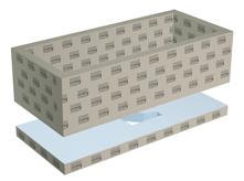 lux elements relax bw kit de construction pour baignoire. Black Bedroom Furniture Sets. Home Design Ideas
