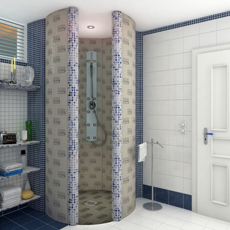 Lux Elements Relax Rd Ronde Douche