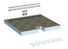 lux elements tub line combi receveurs de douche extra. Black Bedroom Furniture Sets. Home Design Ideas