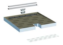 Lux elements tub line combi receveurs de douche extra for Lux elements receveur douche