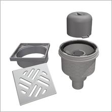 Lux Elements Tub Systemes D Ecoulement Complet Siphons De Sol