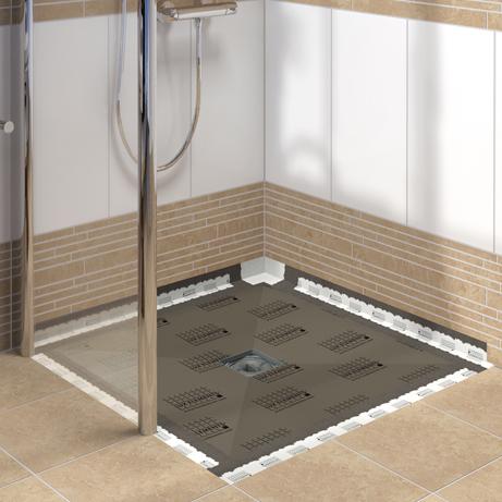 how to fix squeaky shower foam floor