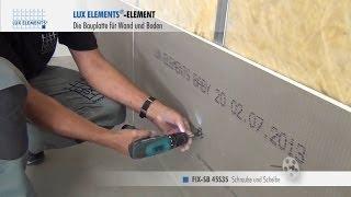 Lux elements bauplatten und polystyrol hartschaum formteile f r bad wellness und sanit r - Plaat bad ...
