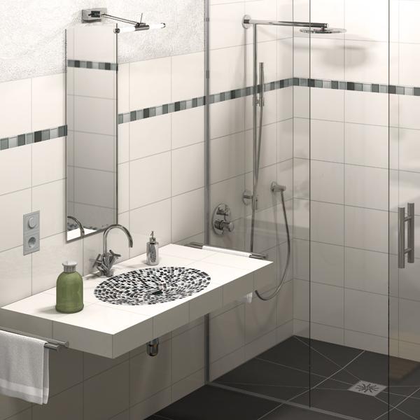 elements lavado® - plans de vasques suspendu